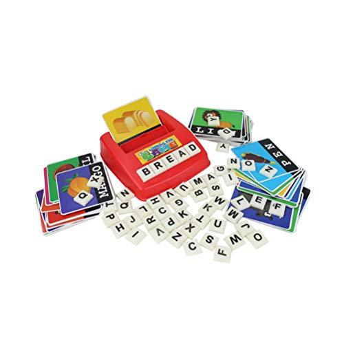 YeahiBaby 1 Juego de Letras del Alfabeto Juguete de Idiomas Extranjeros Educativo para Niños bebés