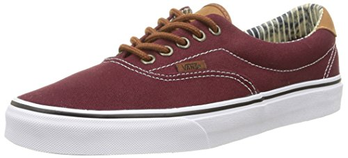Vans Era 59, Unisex-Erwachsene Sneaker, Rot (c&l/port Royale/stripe Denim), 41 EU (7.5 UK)