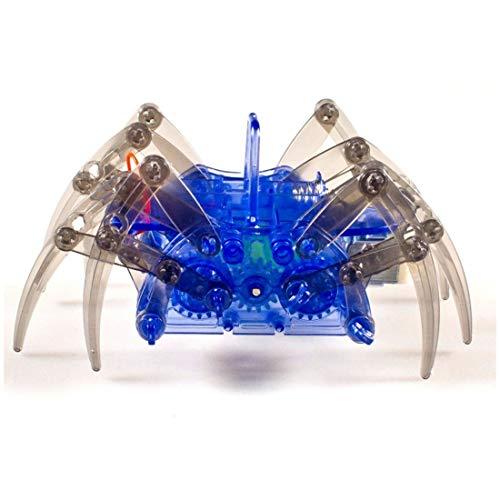 noDNA We love robotics Spider Robot Spinnen-Roboter Kinderspielzeug zum Selbst Bauen Do It Yourself Spinnenroboter mit 8 Beinen DIY Robotik-Bausatz für Adventskalender, Kinder und Jungen ab 8 Jahren