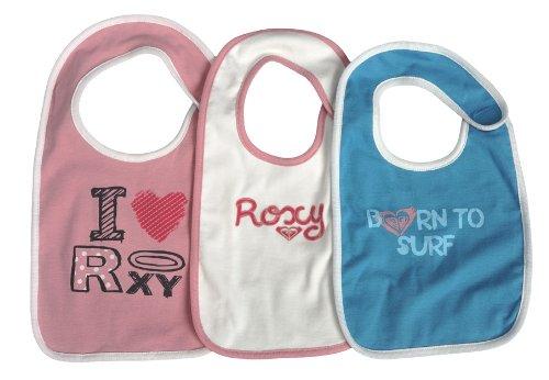 Roxy Kinder Babylätzchen im 3 er Pack 1 2 3, rosewood, 20x28cm (TU)