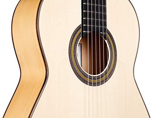Black La Bella 653917 Flamenco Nylon Silver Plated String Set for Classic Guitar