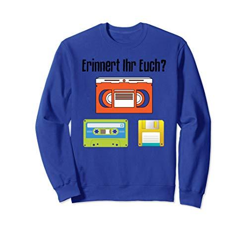 Videokassette Kassette Diskette Sweatshirt