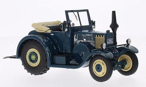 Lanz Eilbulldog, bleu, voiture miniature, Miniature déjà montée, Schuco   Pro.R 1 32