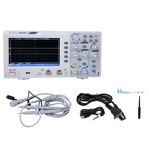Osciloscopio digital económico SDS1202 100-240 V