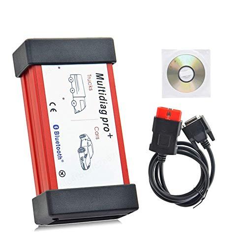 LNIEGE Universaldiagnosewerkzeug Bluetooth 2015R3 Tcs Cdp-Scan-Werkzeug OBD-II OBD2 Multidiag Pro + OBD Link USB DIY Car Data