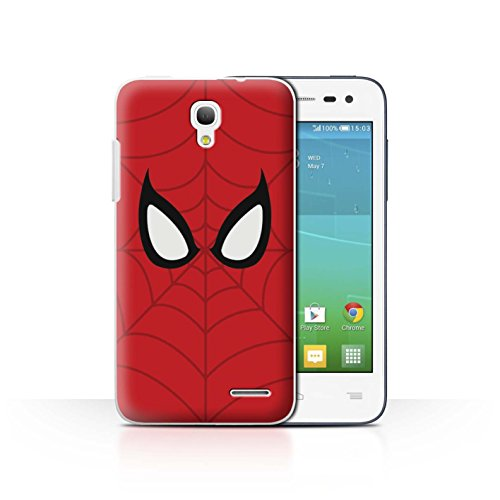 Stuff4 Var voor JP-MARVEL Alcatel OneTouch Pop S3 Spider-Man Mask Inspired