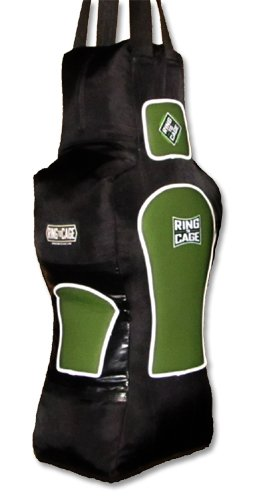 Ring to Cage Torso Heavy Punching Bag - Filled 70lbs - A Great Training Bag for MMA, Muay Thai, Kickboxing and Boxing
