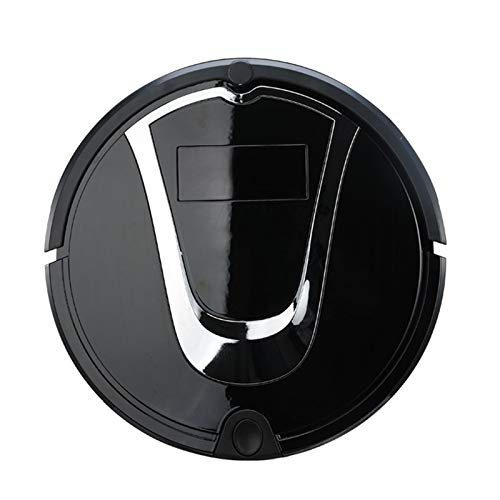 Buy Discount SHMSDJQ Robotic Vacuum Cleaner Self-Charging Sweeping Suction Smart Sensor Protectio, Multiple Cleaning Modes Vacuum Best for Pet Hairs Hard Floor Medium Carpet,Black