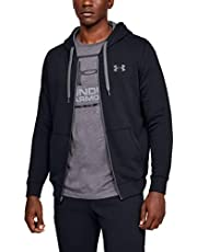 Under Armour Rival Fitted Full Zip, Sudadera Hombre