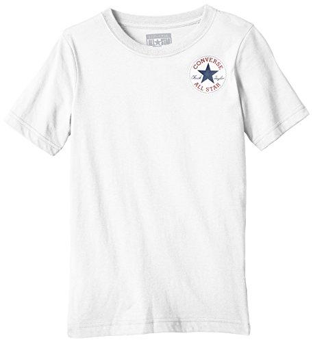 Converse Left Chest Camiseta, Blanco, 4-5 años para Niños