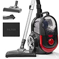 A+ ENERGY RATING: Rated as being in one of the highest categories, the VC7020 performed well in all energy performance and durability tests. But don't let this fool you; whilst being energy efficient, this cyclonic vacuum is also very powerful and ab...