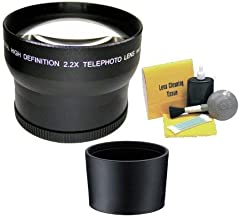 Canon Powershot S5IS 2.2 High Definition Super Telephoto Lens (Includes Necessary Lens Adapter) + Nwv Direct 5 Piece Cleaning Kit
