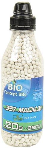 357 magnum Billes en Bouteille de 2800bbs Blanc 0,20 g