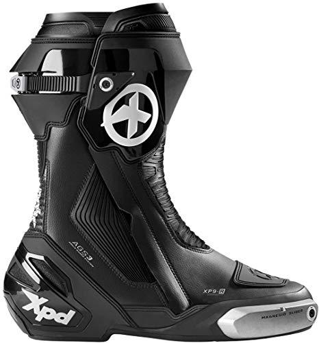 XPD XP9-R Motorradstiefel Schwarz/Weiß 46