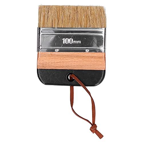 Cepillo de Pintura, Cepillo de Pintura para Muebles Cepillo de Pintura Multifuncional con Mango de Madera para el hogar para Muebles
