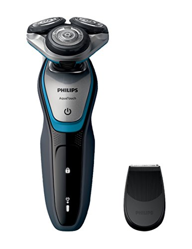 Philips AquaTouch Trocken-/Nassrasierer, 100 % wasserdicht