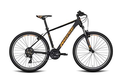 ConWay MS 327 Herren Mountainbike Fahrrad Radsport Black matt/orange 2020 RH 46 cm / 27,5 Zoll