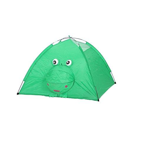 Siena Garden Kinderzelt Froggy, 120x120x80cm, Gestell: Fiberglas, Fläche: Polyester in grün