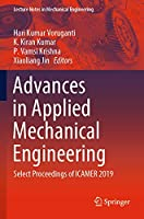 Advances in Applied Mechanical Engineering: Select Proceedings of ICAMER 2019 (Lecture Notes in Mechanical Engineering)