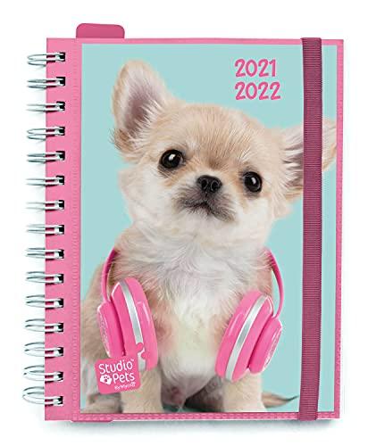 AGENDA ESCOLAR 2021-2022 Semana Vista Studio Pets Dogs by Kalenda by Kalenda