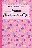 Dieses Notizbuch gehört der besten Industriemeisterin der Welt: blanko Notizbuch   Journal   To Do Liste für Industriemeister und ... Notizen - Tolle Geschenkidee als Dankeschön