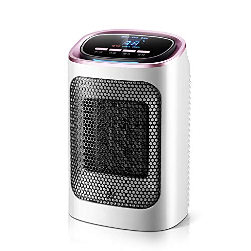Chauffe-maison, salle de bains, vitesse d'économie d'énergie, chauffage par céramique CTP mini chaud, tête à agitation automatique, thermostat à trois vitesses (Color : Remote)