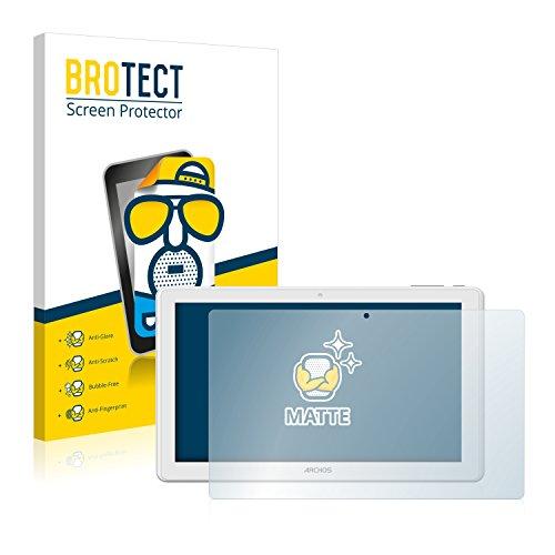 BROTECT 2X Entspiegelungs-Schutzfolie kompatibel mit Archos 101 Magnus Bildschirmschutz-Folie Matt, Anti-Reflex, Anti-Fingerprint