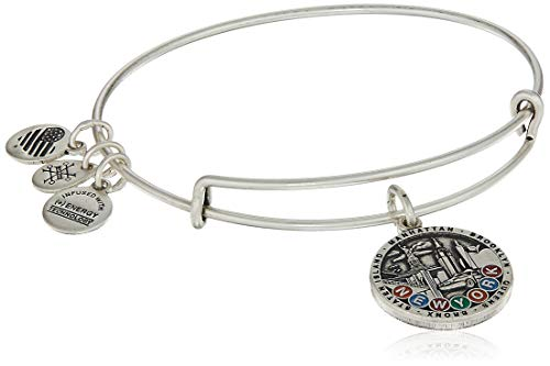 Alex and Ani Damen-Armreif New York City, Rafaelian Silber