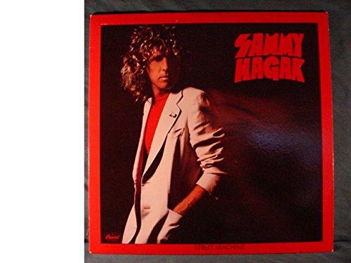 Sammy Hagar Near Mint Stereo Lp & Printed Inner Sleeve & Embossed Cover - Street Machine - Capitol 1979