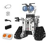 WANGCHAO Stem Robot Kit, Control Remoto Ingeniería Robot Aprendizaje Herramienta Ciencia Aprendizaje Educación DIY Building Toy Boy Boy and Girl Set 8 10 12 (438pcs)