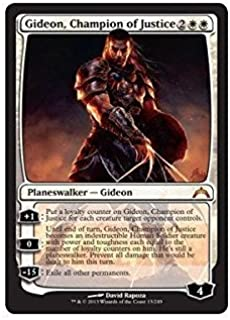 Magic: the Gathering - Gideon, Champion of Justice (13) - Gatecrash