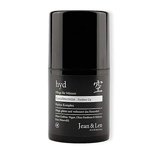 Jean & Len Hydro-Gesichtscreme Men, Das Triple-Feuchtigkeitskonzept Mit Glycerin, Hyaluronsäure Und Schwarzem Haferextrakt Versorgt Intensiv Mit Feuchtigkeit, 50 Ml, 1 Stück