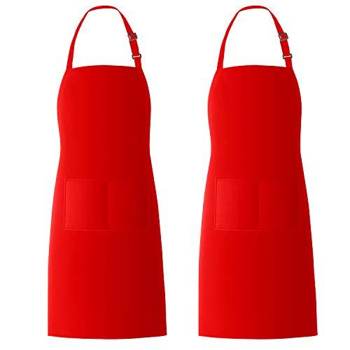 delantal rojo fabricante Xornis