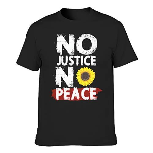 Cool Mehrere Muster Arbeitskleidung Kurzarm-T-Shirt für Ehefrau Black 3XL