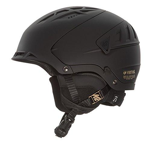 K2 Skis Damen Helm Virtue Skihelm, Black, M
