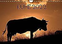 Kuehe 2022 (Wandkalender 2022 DIN A4 quer): Kuehe in den Pyrenaeen - fotografiert von Jorge Ruiz del Olmo (Monatskalender, 14 Seiten )
