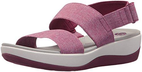 CLARKS Arla Jacory - Sandalias para Mujer, Color Rosa, Talla 39.5 EU