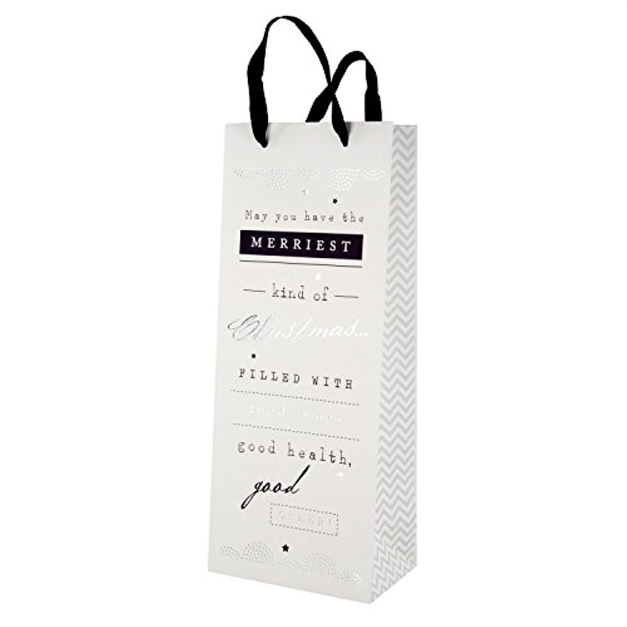 Hallmark Christmas Gift Bag 'Good Cheer' - Bottle