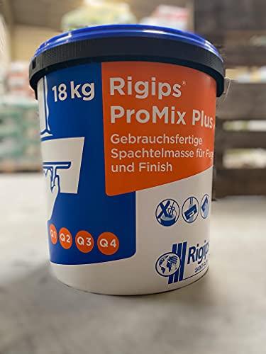 Rigips ProMix Plus Spachtelmasse Fertigspachtelmasse für Gipskarton 18 KG