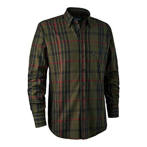 Deerhunter Larry Shirt - Green Check