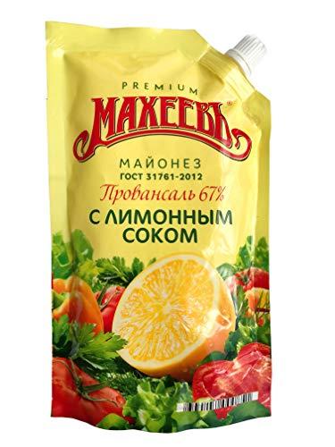 Russische Salatmayonnaise mit Zitronensaftkonzentrat im Beutel (400 ml) RUSSLAND SPEZIALITÄT