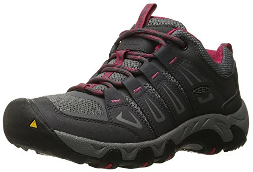 KEEN Women's Oakridge Shoe, Magnet/Rose, 6.5 M US