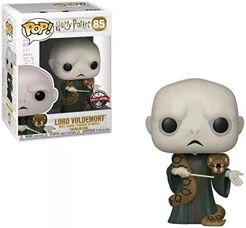 ZGZZ ¡Popular! Harry P - Figura de Vinilo Coleccionable de Lord Voldemort y Nagini de la Serie de peliculas clasicas