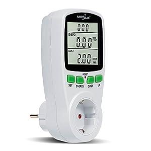 GreenBlue GB202G - Vatímetro Medidor del consumo energético, Color Blanco (1)