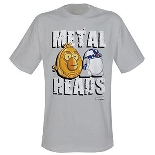 Angry birds star wars metal t-shirt heads-taille xXL