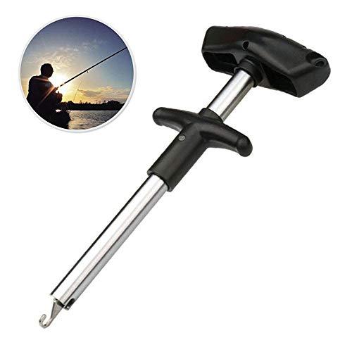 Goglor Easy Fish Hook Remover, Stretto di Pesce separatore Strumenti Gancio, Tubo di Alluminio Gancio separatore Portatile Fish Hook out estrattore Accessori per la Pesca