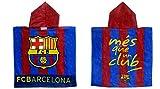 BARÇA Poncho Toalla FC Barcelona 100 X 50 CM 100% ALGODÓN