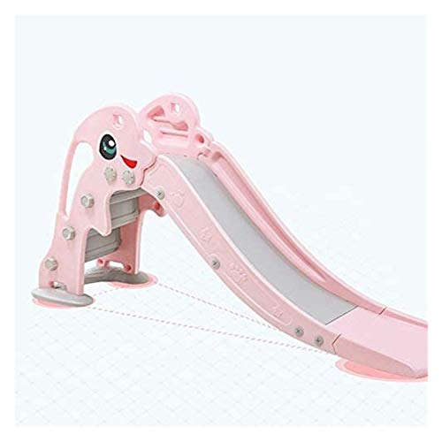 LHAHGLY Diapositiva Interior Infantil Baby Home Slide Kindergarten Multifuncional Toy toboganes Infantiles (Color : Pink)