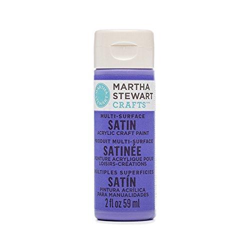 Martha Stewart Multi-Surface Satin Acrylic Paint: Periwinkle, 2 oz