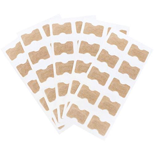 Exceart 50 Stück Eingewachsene Zehennagelkorrektor Aufkleber Zehennagel Elastische Patch Aufkleber Korrektor Pediküre Werkzeuge Gebogen Zehennägel Klammer Aufkleber für Die Nagelpflege
